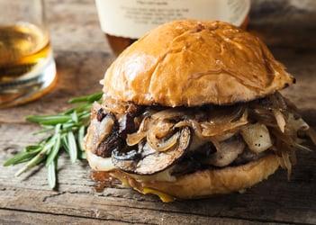 Svampe-burger