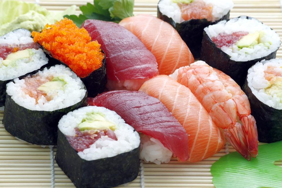 laks sushi